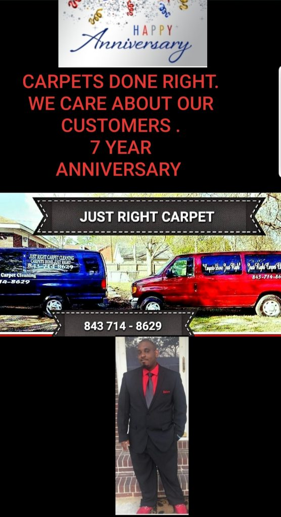 Just Right Carpet Cleaning SC